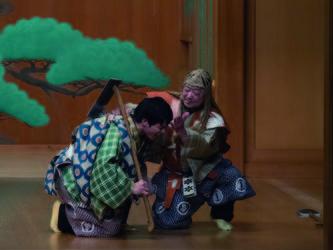 野村万作萬斎 狂言の現在2020狂言三代 特別公演の写真