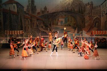 子どものためのバレエ ドン・キホーテの夢の写真