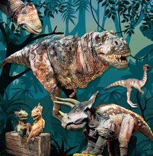 リアル恐竜ショー「恐竜パーク」の写真